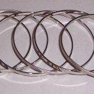 Simple Bangle Bracelets