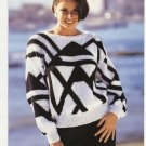 Patons KNITTING PATTERN Women's Pullover  in DK