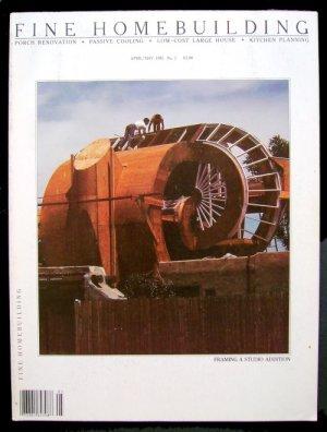 FINE HOMEBUILDING Magazine #2 Apr/May 1981