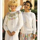Patons KNITTING PATTERN Women's Pullover  in DK