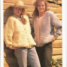 Patons KNITTING PATTERN  Women's Cardigan