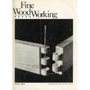 1979 FINE WOODWORKING Magazine #18 Showcase cabinet Mortising Woodturning Chisel