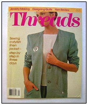 THREADS Magazine #52 Linen Jacket Weaving knits