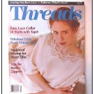 THREADS Magazine #59 Lace Collar Knit Cord Battenberg