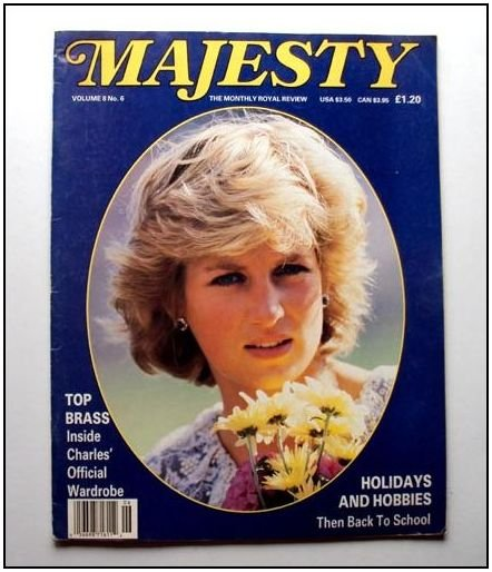 1987 MAJESTY Magazine Vol 8/6