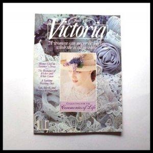VICTORIA MAGAZINE 6/6 June 1992 Vol 6 No 6