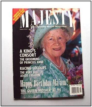 1994 MAJESTY Magazine Vol 15/8