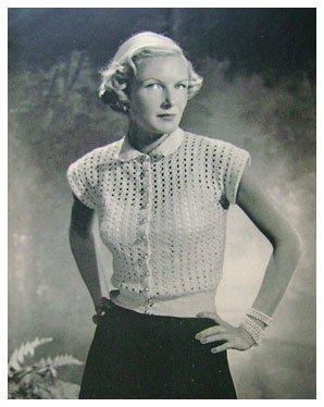 Vintage 1950s Knitting Pattern Book TWIN SET Sweaters +