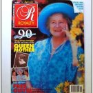 1990 ROYALTY Magazine Vol 9/11 with POSTCARDS