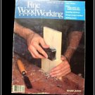 1984 FINE WOODWORKING Magazine #49 Wooden Puzzles Snowshoes Fix Cracked Finishes