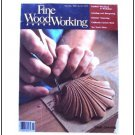 1986 FINE WOODWORKING Magazine #61 Shell Carving Grinding Sharpening Toy Truck +