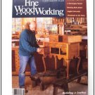 1990 FINE WOODWORKING Magazine #80 Sengebenk Norwegian Bench Crown Molding ++