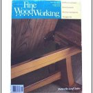 1992 FINE WOODWORKING Magazine #94 Butterfly leaf Table Raised Panels Marquetry