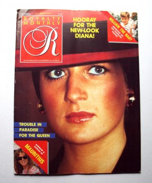 1987 ROYALTY Magazine Vol 7/2 Princess Diana Prince William Cecil Beaton Photos