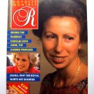 1988 ROYALTY Magazine Vol 7/4 Princess Diana Royal Fashion Ann in SE Asia