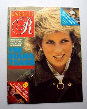 1988 ROYALTY Magazine Vol 7/5 Princess Diana on Cover