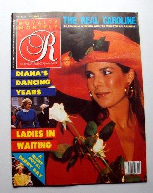 1988 ROYALTY Magazine Vol 7/10 Princess Diana Caroline of Monaco Sarah Pregnancy