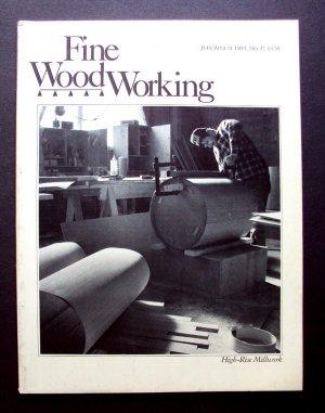 1984 FINE WOODWORKING Magazine #47 High rise Millwork Netsuke Marquetry Burls ++