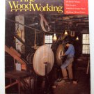1986 FINE WOODWORKING Magazine #58 Oval Turning French Polishing Scraper Walnut