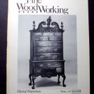 1977 FINE WOODWORKING Magazine #9 Tall Chests Hanging Doors Blacksmithing ++