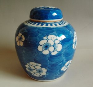 China Qing Dynasty Guangxu time blue china
