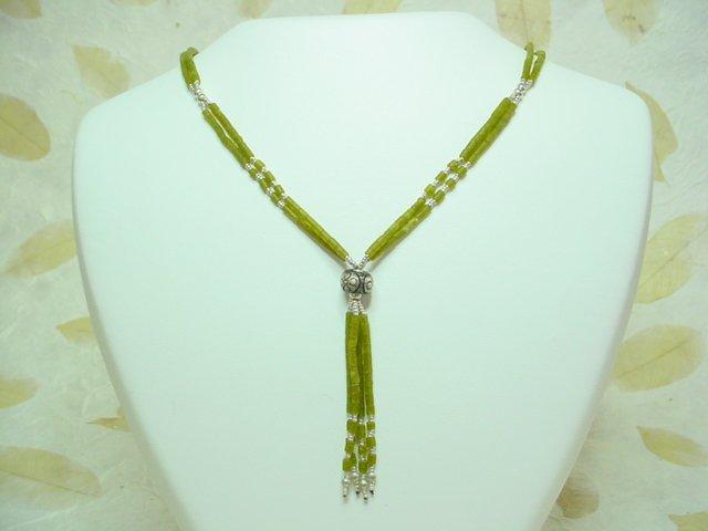Jade + 925 Silver Necklace