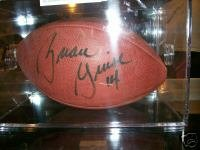 Brian Griese Signed Football
