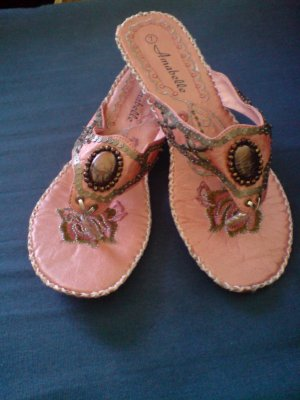 Pink Angel style sandal (New In Box)