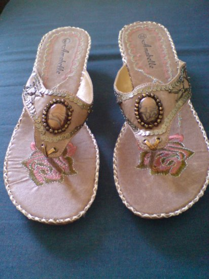 Tan Color Angel Style Sandal (New in Box)