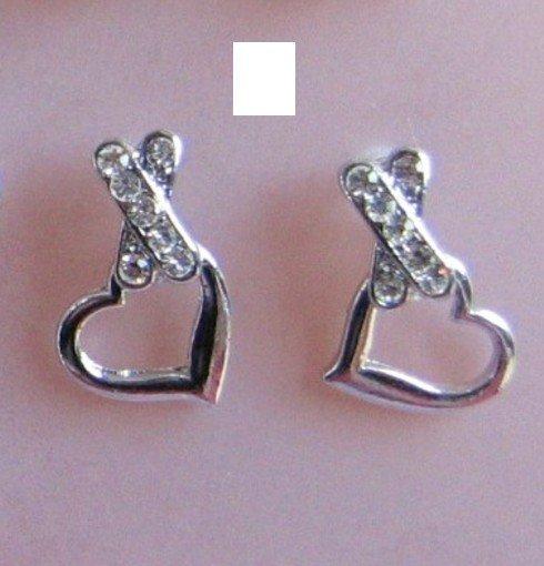Swarovski Cyrstal - Heart Shape earrings