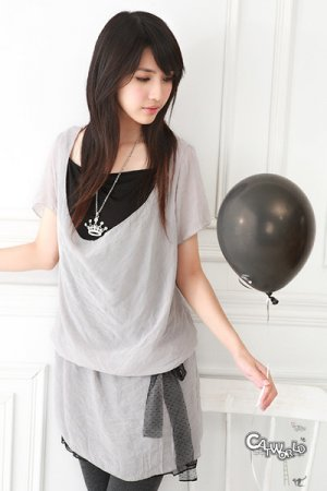 Japanese Style Two Pieces Top/Dress