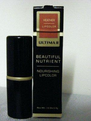 Ultima II Beautiful Nutrient Lipstick Heather Lipcolor
