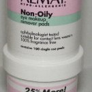 Almay Eye Makeup Remover Pads Non-Oily Eye Makeup Remover QTY 1 Jar