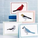 Martha Stewart Glitter Set 5 Colors Birds Cards 26 Pieces!