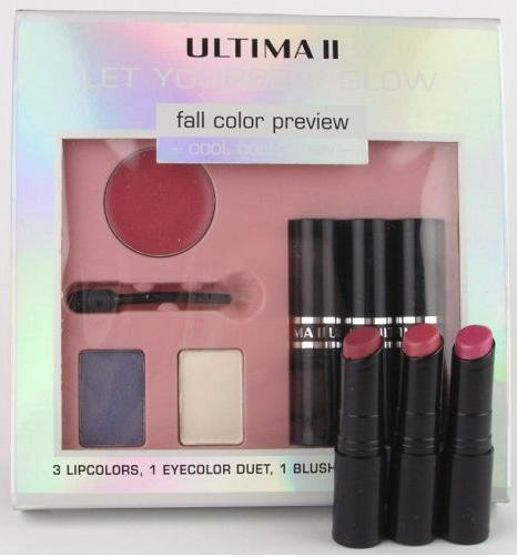 Ultima II Ripe Sienna Plum Beautiful Nutrient Lipstick Set Ripe Sienna Plum Lipcolor Set