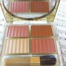 Estee Lauder AeroMatte Pressed Powder 1W Pink Kiss Blush Tender Blush + Petal Blush + Nectar Blush