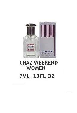 Chaz Weekend for Women eau de Toilette 0.23 Fl. Oz. 7 ml