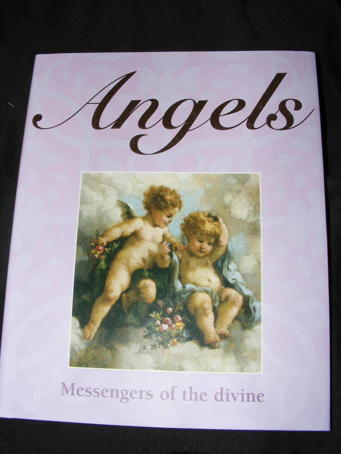 Beautifully Illustrated Book Covers : Book on angels messengers of the divine hardback with