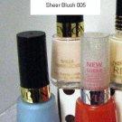 Revlon Sheer Blush 005 Nail Polish Sheer Translucide