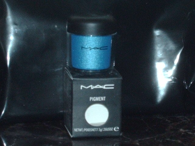 MAC Cosmetics Bell Bottom Blue - Naughty Nauticals - Pigment 1/4 tsp Sample Jar