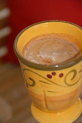Caramel Turtle Hot Chocolate
