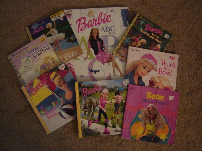 Barbie Books sale 7.00