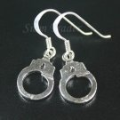 Sterling Silver Dangling Handcuff Earrings YSS22