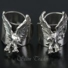 Sterling Silver Eagle Ear Cuffs AESS1283