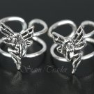Sterling Silver - Fairy / Pixie Ear Cuffs CSS290
