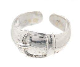Sterling Silver Belt Toe Ring TRSS10