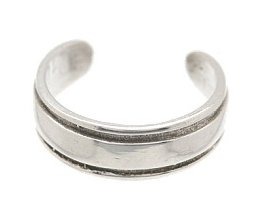 Sterling Silver - Classy - Toe Ring TRSS4