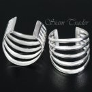 Sterling Silver - 5 Loop - Ear Cuffs AESS1276