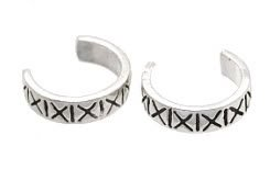 Sterling Silver Ear Cuffs CSS352