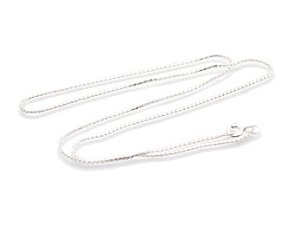 """Sterling Silver 16"""" Necklace CHSS37"""